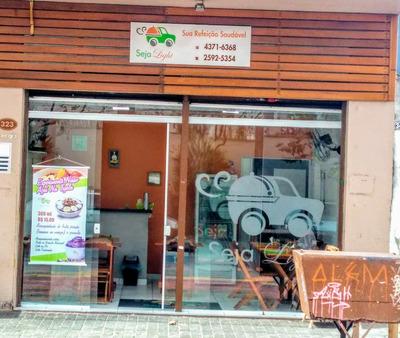 Ponto Comercial De Restaurante Light (em Funcionamento)