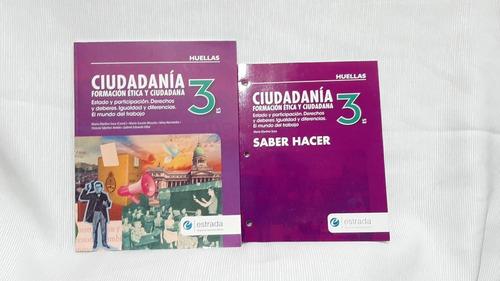 Ciudadania 3 Es Huellas Formacion Etica Y Ciudadana Estrada