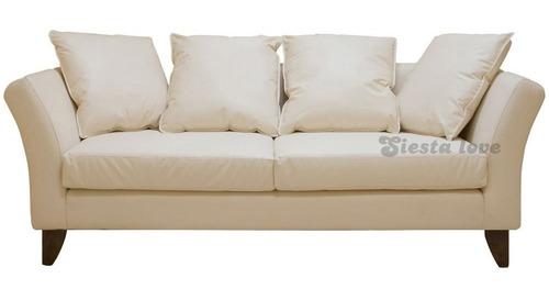 Siestalove - Sillón Trento 3 Cuerpos Placa Soft + 4 Deco