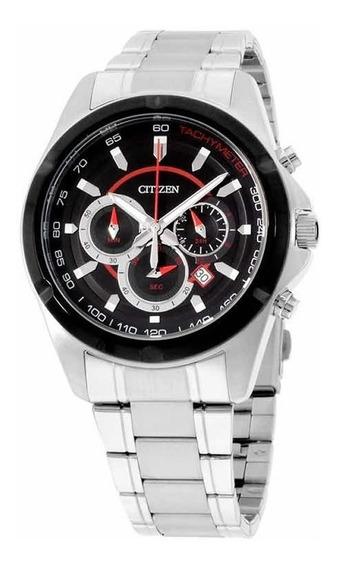 Reloj Citizen Hombre An804151e Acero Inoxidable Plateado