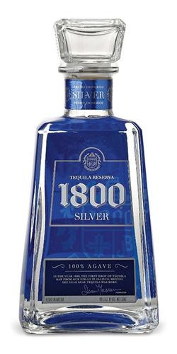 Imagen 1 de 6 de Tequila 1800 Silver Reserva 750ml Origen Mexico