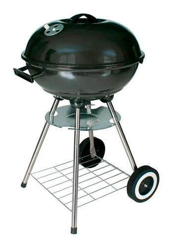Barbacoa Carbon Portable Con Ruedas Home Elements | Xenex |