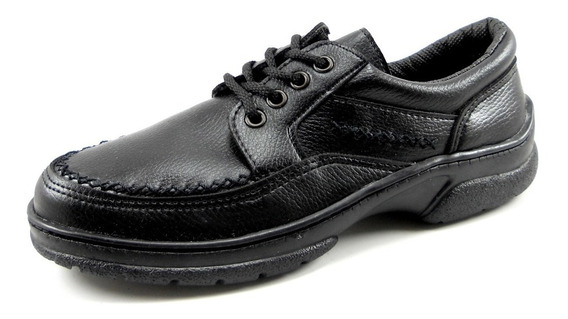Zapato Acordonado De Hombre Confortable Reforzado
