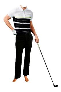Pantalon De Golf Ejecutivo Formal Tela Spandex Antifluido