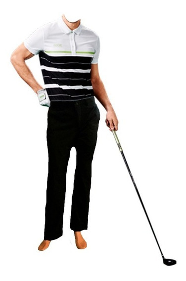 Pantalon De Golf Ejecutivo Formal Tela Spandex Antifluido