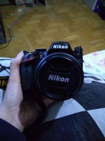 Câmera Nikon D3200 + Tripé + Bolsa