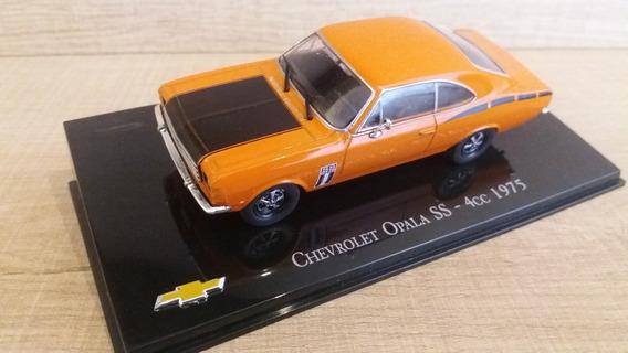 Miniatura Opala 1:43 Chevrolet Collection Ss1975 Edição 16
