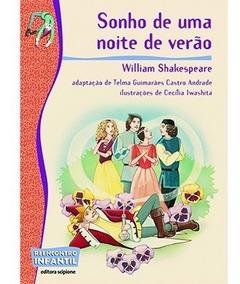 Livro Sonho De Uma Noite De Verão Adap. Telma Guimaraes Cast