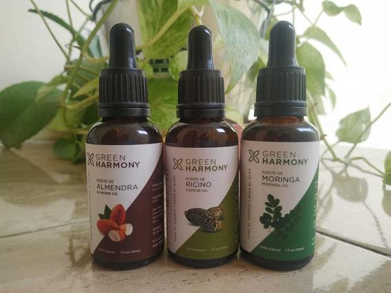 Aceite De Ricino Y Aceite De Almendras Organico Natural 30ml