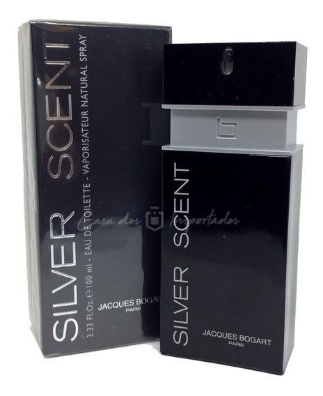 Silver Scent 100ml | Original E Lacrado + Amostra De Brinde