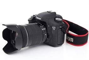 Canon 7d + 2 Baterias, Carregador, Compactflash 64gb E Grip