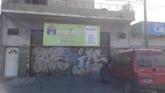 Importante Local-galpón 650 M2. Zonif. Ind. Dominante