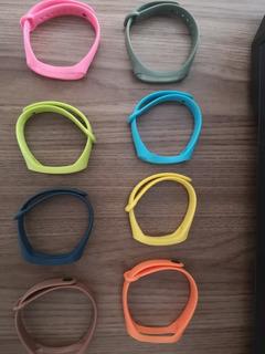 Kit 8 Pulseiras Xiaomi Mi Band 3 E 4