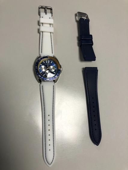 Relógio Nautica N09915g Masculino 2 Pulseiras
