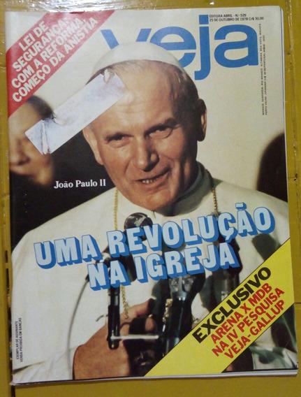 Revista Veja Sobre Papa João Paulo Ii 1978