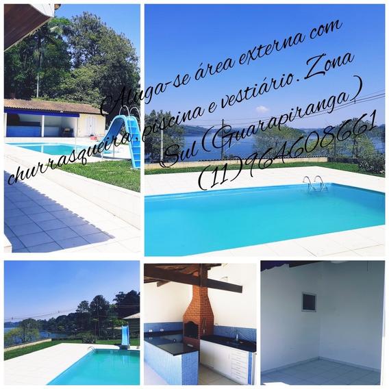 Alugo Para Festas E Eventos. Casa No Guarapiranga Z/s Sp