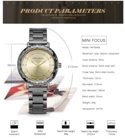 Compre 2 Relógios E Ganhe 1 De Presente Femininos