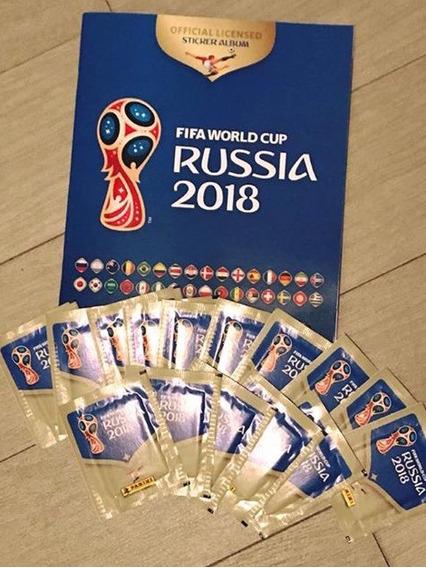 Panini Rusia 2018 Set Album Y 15 Sobres De Estampas Oficial