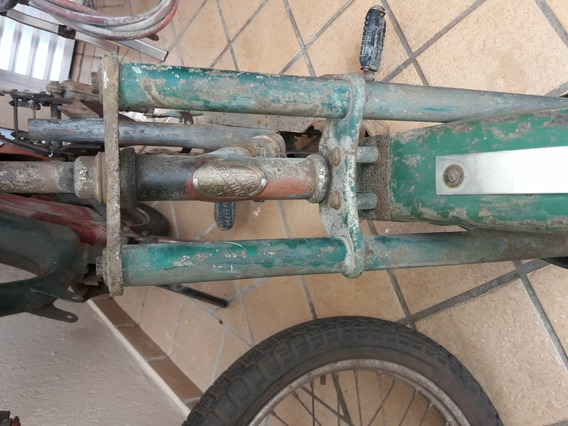 Quadro De Motocicleta Gulivette Muito Raro