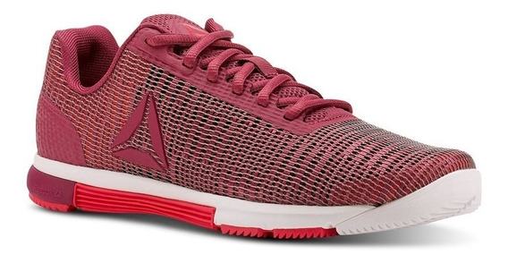Reebok Zapatilla Training Mujer Speed Tr Flexweave Bordo