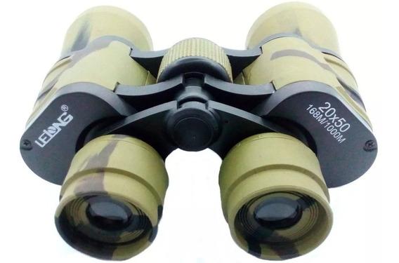 Binóculo Le 2051 Profissional Camuflado 20x50 Longo