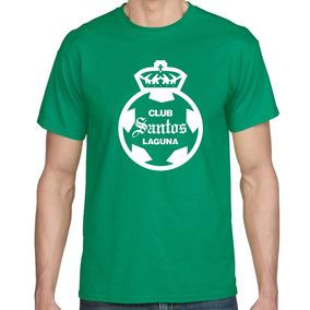 Camiseta Estampada Santos Laguna