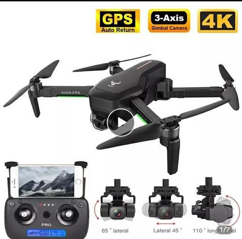 Dron Sg906 Pro2, 2 Baterías Con Gps, 5g, Wifi, 4k, 3 Ejes