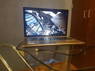 Laptop Toshiba 8gb Ram Ssd 128gb Y Hdd 750gb Windows 10 Pro
