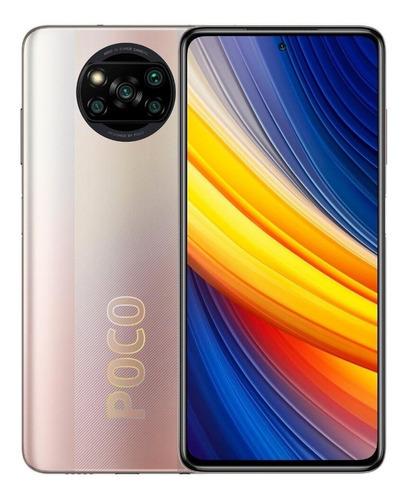 Imagem 1 de 1 de Xiaomi Pocophone Poco X3 Pro Dual SIM 128 GB metal bronze 6 GB RAM