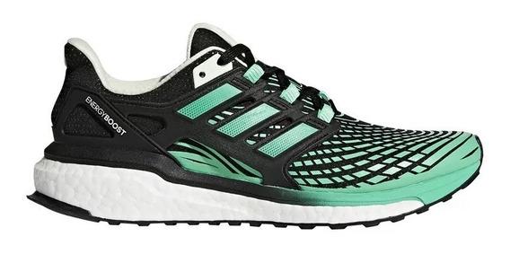 adidas Zapatillas Running Mujer Energy Boost Negro/verde