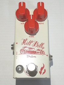Pedal De Overdrive Hill Billy Fire Custom Shop