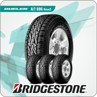 265/65/17 Combo Por 4 Cubiertas 112 T Bridgestone At Revo2