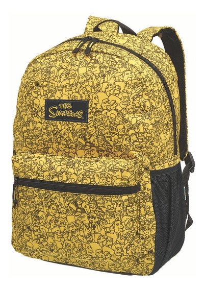 Mochila De Costas Simpsons Faces - G
