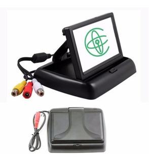 Pantalla / Monitor 4.3 Ajustable Para Cámara Retroceso Auto