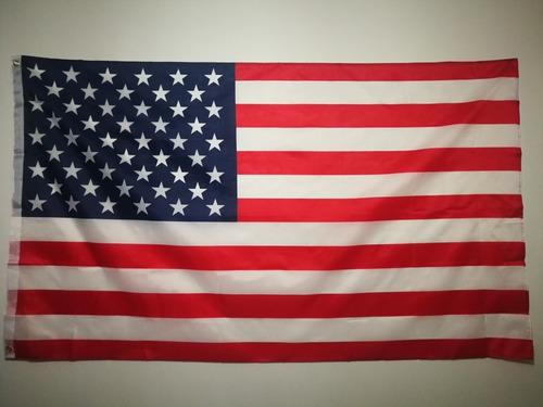 Imagen 1 de 4 de Bandera De Los Estados Unidos (eeuu) 90 X 150 Cm