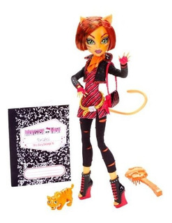 Monster High Toralei Stripe Doll Con Mascotas Sweet Fang