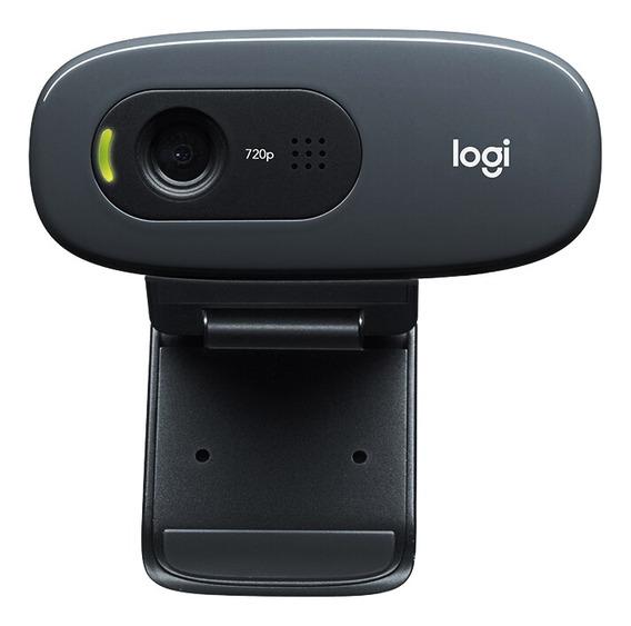 Logitech C270 Hd 720p Widescreen Vídeo Webcam Computador