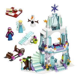 Castillo Hielo Frozen Princesa 314 Pcs Com/lego Niña Sy Ajd