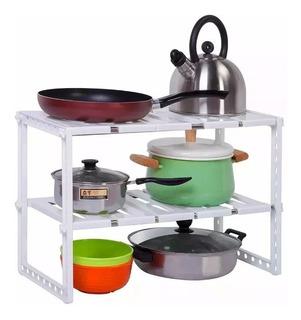 Mueble Organizador Cocina O Baño X 2 Unidades + Envio