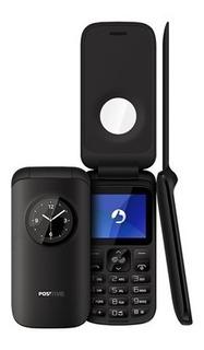 Celular Positivo Flip P40 2 Chip Cam Bluetooth Bom P/ Idosos