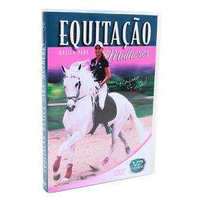Dvd Equitação Básica Para Mulheres - Único
