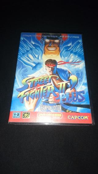 Street Fighter Ii Plus Original Pra Mega Drive/ Sega Genesis