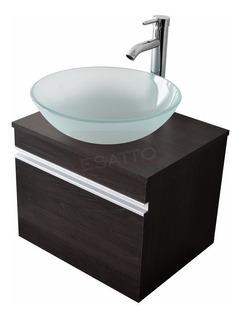 Esatto® Mueble Baño Dbta Drop Satin 2 Lavabo Ovalin Llave