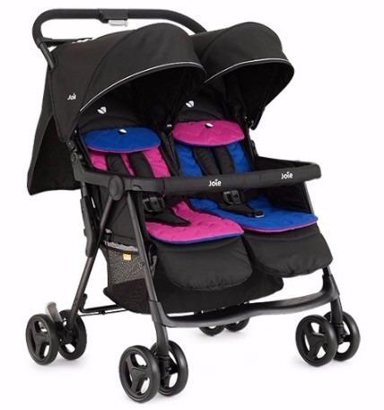 aeabae006 Cochecito Mellizos Carrito Bebe Doble Infanti Aire Twin - $ 8.400,00 ...