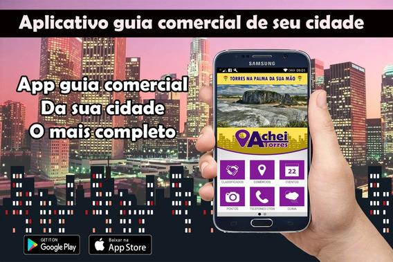 Aplicativo Guia Comercial Android E Ios Com Classificados