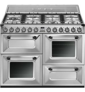 Cocina Smeg Mixta 110 Cm Tr4110x