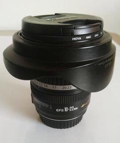 Canon Ef-s 10-22mm F3.5-4.5 + Parasol + Filtro Uv