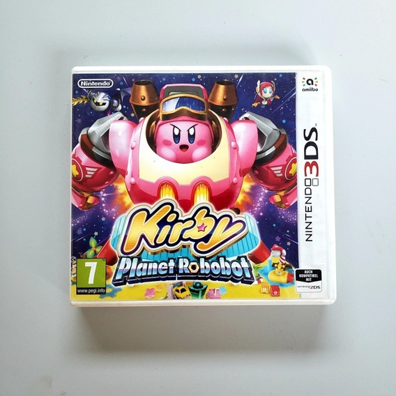 Kirby Planet Robobot Original Nintendo 3ds 2ds Europeu