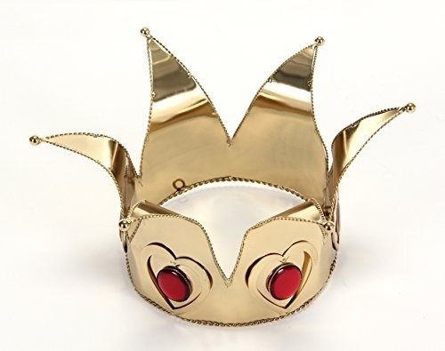 Corona De Oro De La Reina De Corazones Por Fugarse