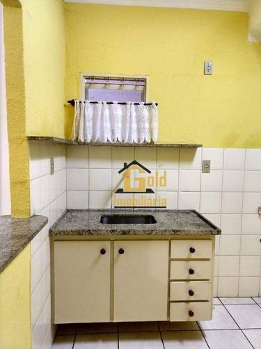 Apartamento Com 1 Dormitório Para Alugar, 45 M² Por R$ 1.000/mês - Residencial E Comercial Palmares - Ribeirão Preto/sp - Ap1926